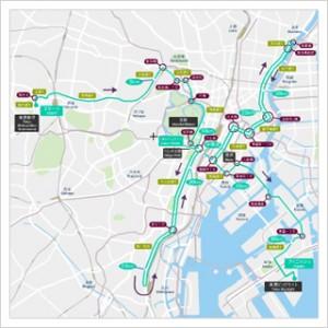 東京マラソンコースマップ