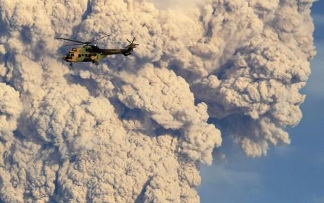 Chile's Puyehue Volcano Erupts