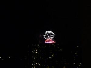 独立記念日の花火!