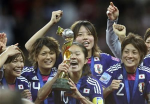 女子ワールドカップ優勝