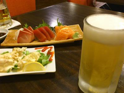 ビールうまい