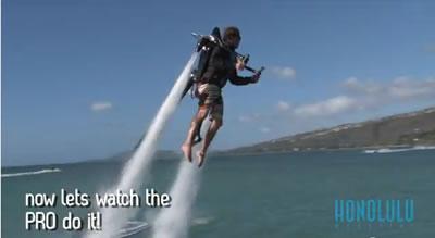 Water-Powered Jetpacks (Honolulu Magazine)