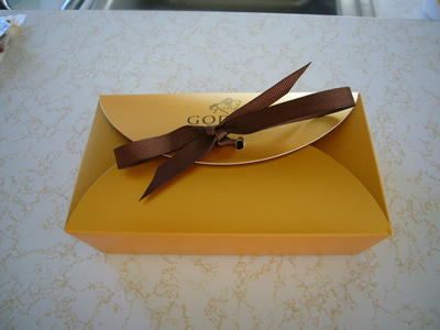 バレンタインデイのチョコレート