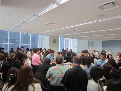 ハワイセミナー2012 名古屋 ワークショップ, 写真提供:ハワイ州観光局