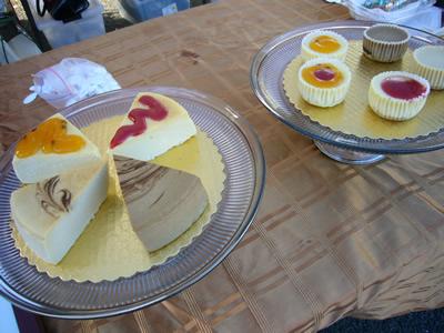 試食してマジうまだったリリコイチーズケーキ