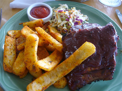 """Bev's """"Infamous"""" Baby Back Ribs"""