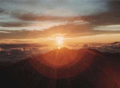 ハレアカラの日の出