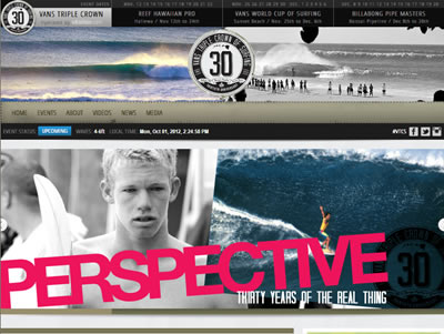 2012 Vans Triple Crown of Surfing