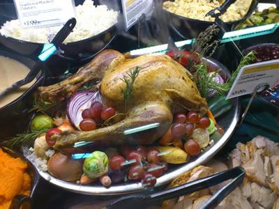 感謝祭の七面鳥