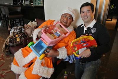Konishikiさんとブラックストーン・グループ・ジャパンのDanさん