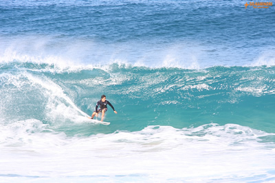 Japanese Professionals on the North Shore, Oahu
