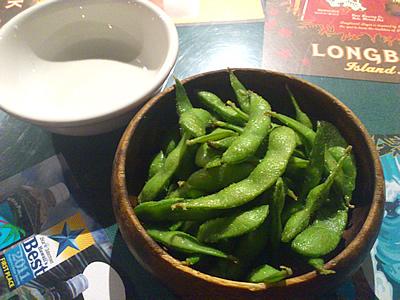 ワサビ枝豆
