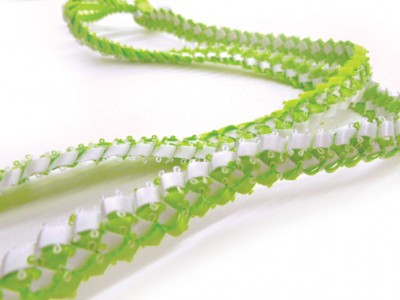 Braided Ribbon Lei