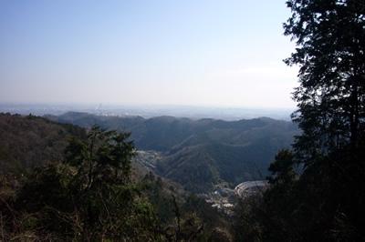 休憩地点のパノラマ展望台