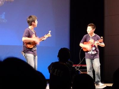NAOTO & KAZUKI UKULELE BROTHERS