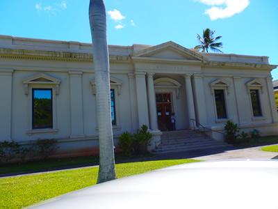 ハワイアンキルトのコミュニティー会場