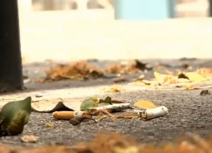 オアフ島で禁煙