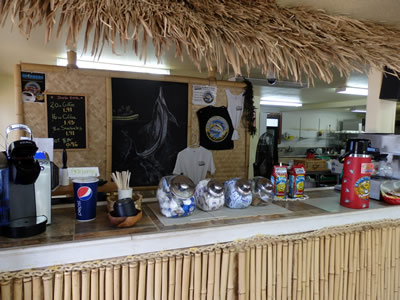 コーヒーカウンター