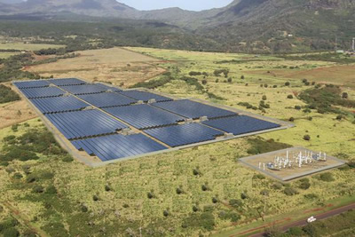 Anahola Solar projec, (C) The Kauai Utility Cooperative