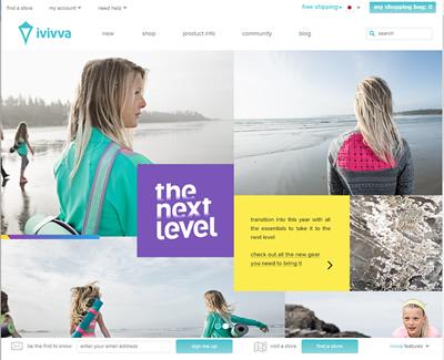 ivivvaオフィシャルサイト
