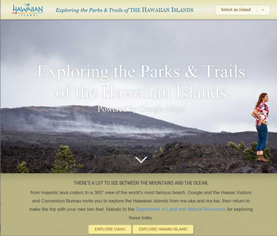 Exploring the Parks & Trails of the Hawaiian Islands