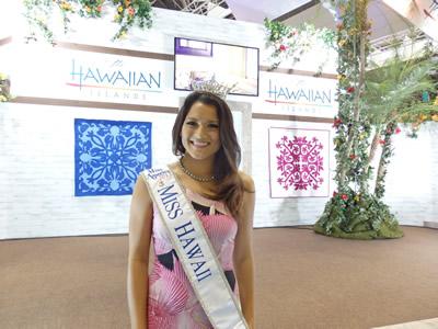 ミス・ハワイのクリスタル・リー