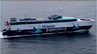 Hawaii Superferry, (C) Hawaii News Now