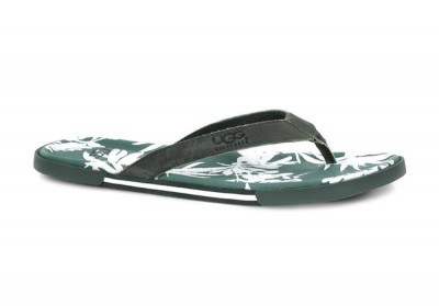 "The Ugg ""Bennison II Hawaii"" thong sandal for men., Courtesy Ugg"