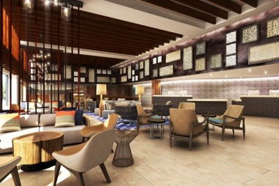 Rendering of the lobby, Courtesy Hilton Worldwide c/o PBN