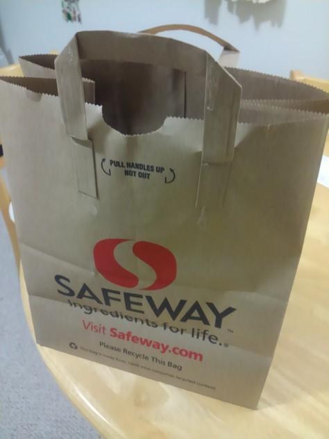 セーフウェイの新しいレジ袋