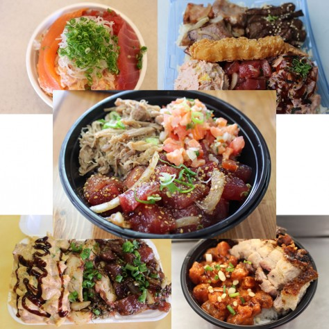 Our Top 5: Ultimate poke bowls (Frolic Hawaii)