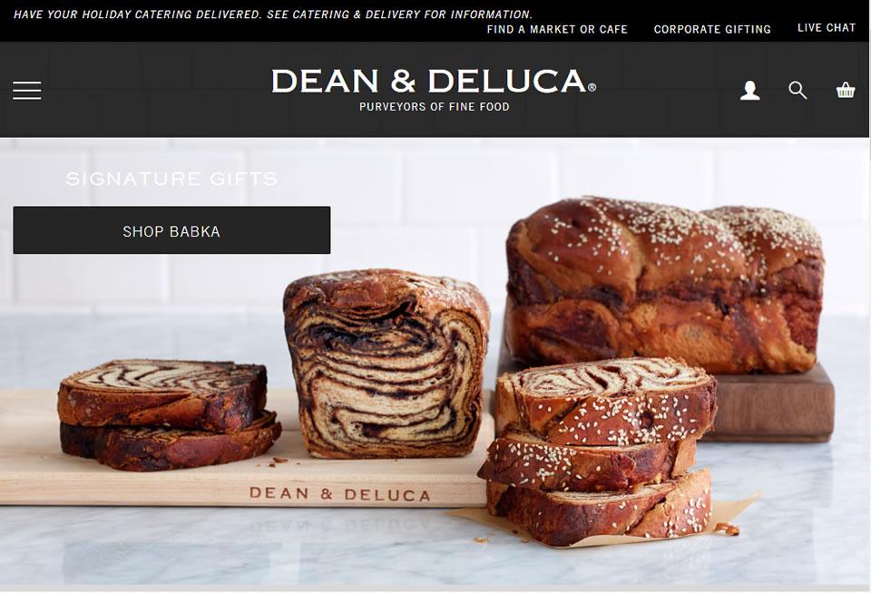Dean & DeLuca公式サイト