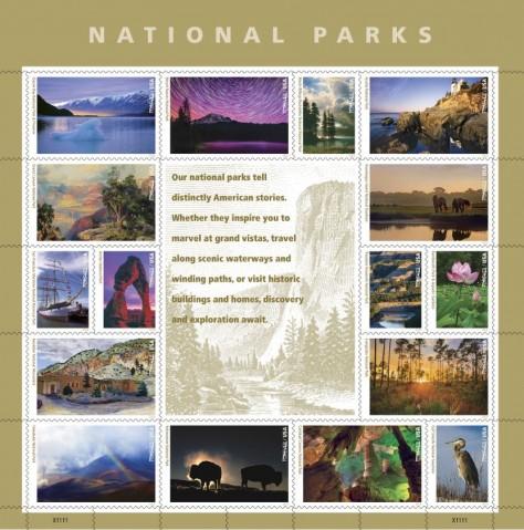 National Parks Stamp, USPS
