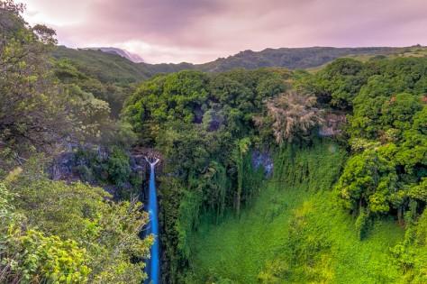 Photo by Brian Uhreen/Flickr, Makahiku Falls, Haleakala National Park: Pipiwai Trail
