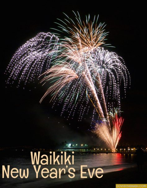 New Year's Eve Fireworks, (C)Go Visit Hawaii