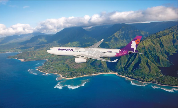 Courtesy of Hawaiian Airlines