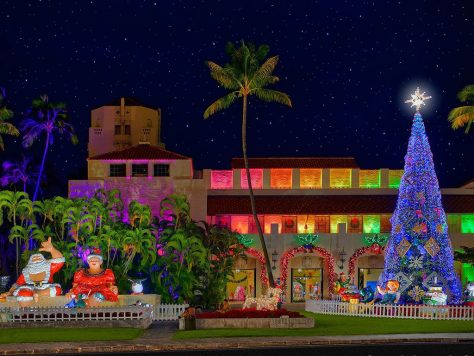 PHOTO: RON SLAUSON, COURTESY OF FRIENDS OF HONOLULU CITY LIGHTS