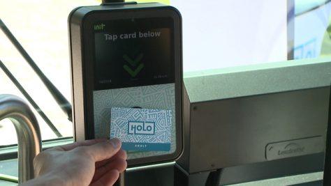 ザ・バスでトランジットカードの試験運用