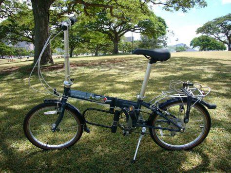 ハワイでサイクリング、楽しい
