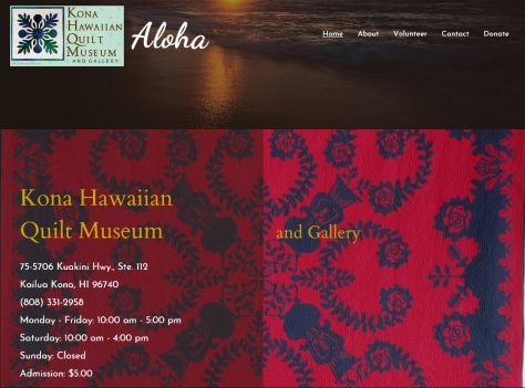 Kona Hawaiian Quilt Museum and Gallery