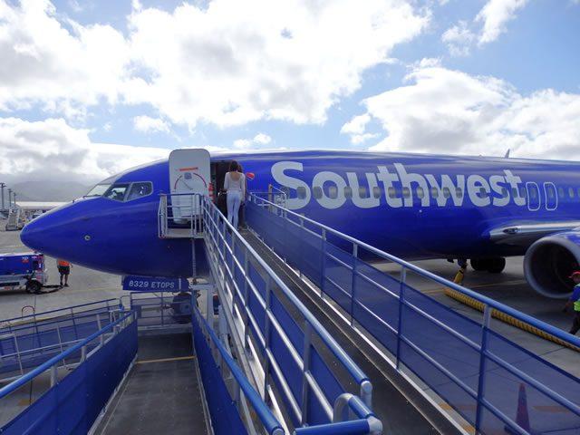 サウスウェスト航空に搭乗してみた!