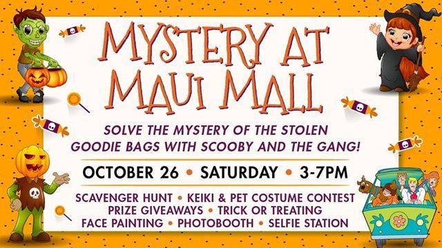 Mystery at Maui Mall