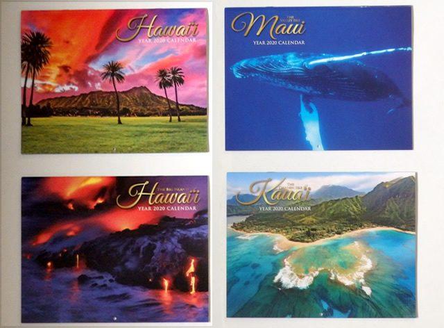 2020年ハワイのカレンダー