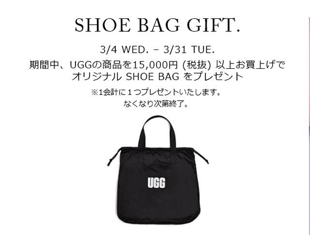 UGG SHOE BAG GIFT